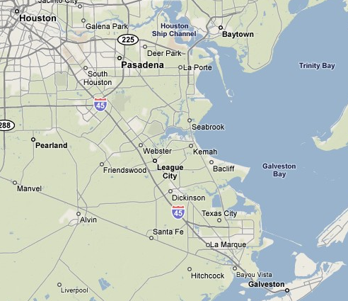 Galveston Bay Area